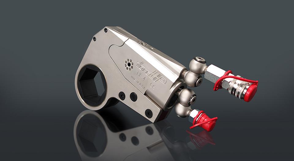 TX-serie hydraulische ringsleutel cassette momentsleutel